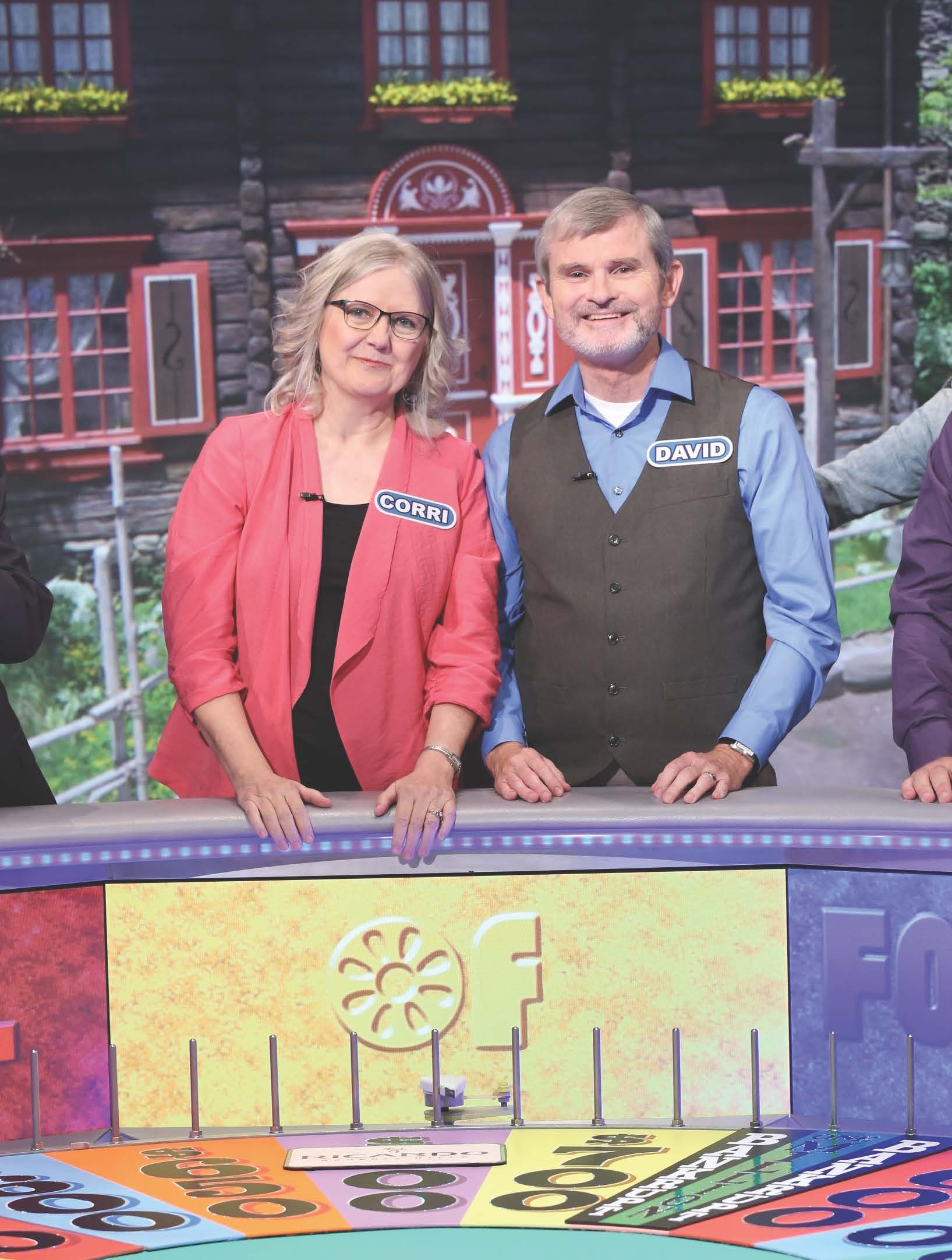 Cornelia and David Wells are contestants on Wheel of Fortune / Photo courtesy Cornelia Wells