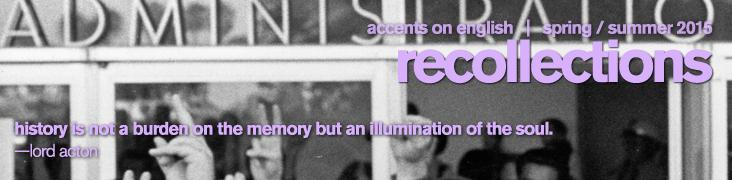 Recollections header
