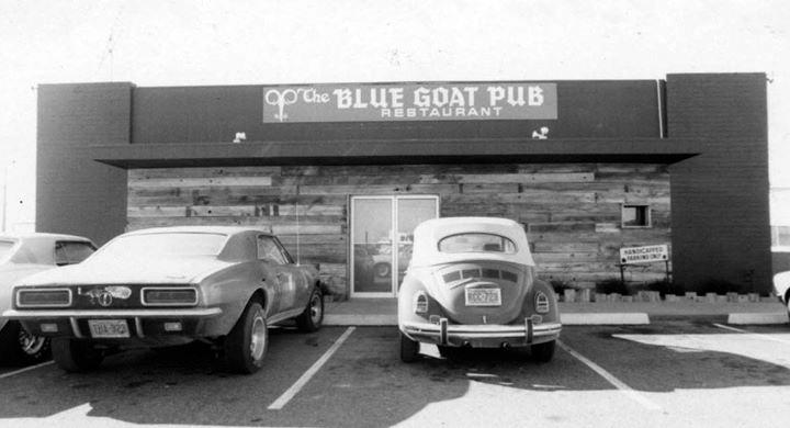 Tempe's Blue Goat Pub in 1975. / Photo from Phoenix, Arizona Historical Images on Google+