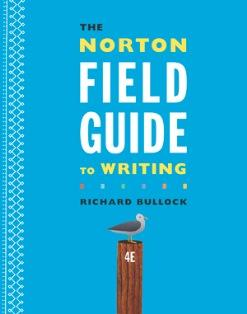 The Norton Field Guide to Writing, 4th ed, co-authored by Maureen Daly Goggin