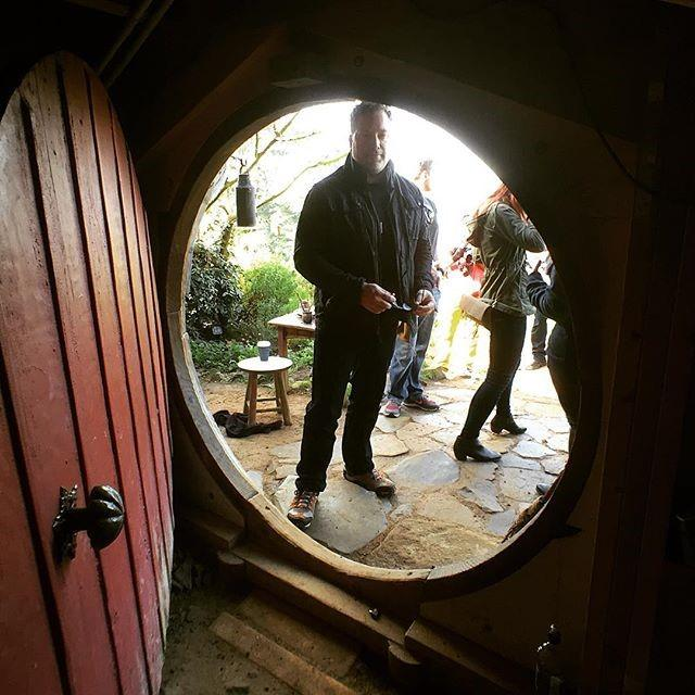 Michael Green at Bag End in New Zealand / Courtesy photo