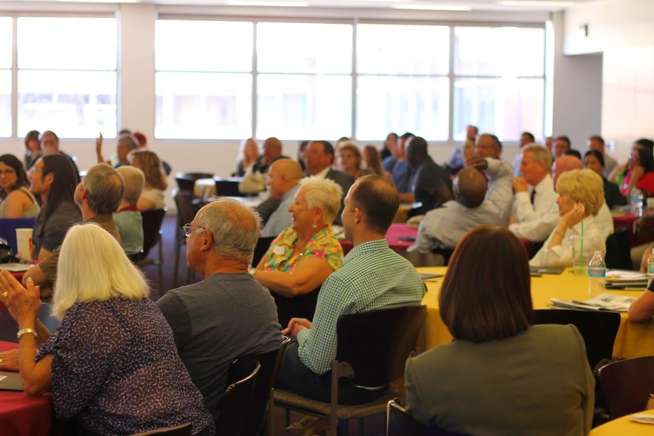 The 2015 Prison Education Conference was full to capacity at most sessions. Photo/Michelle McKay